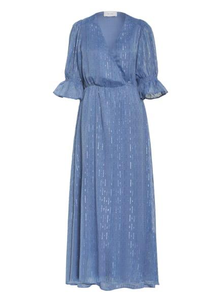NEO NOIR Kleid VENGA mit Glitzergarn, Farbe: BLAUGRAU (Bild 1)