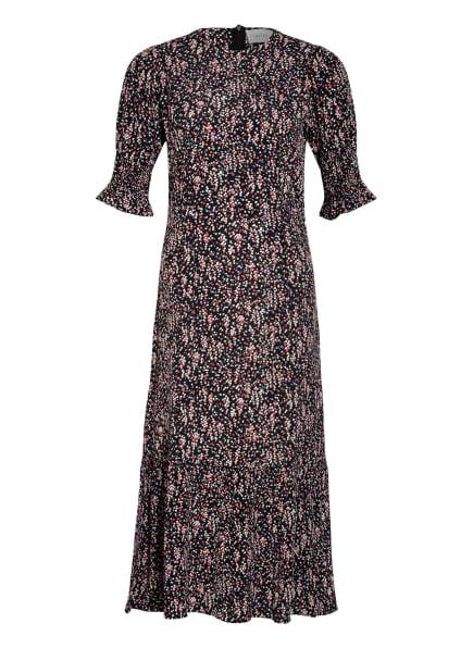 NEO NOIR Kleid BELLIS, Farbe: SCHWARZ/ WEISS/ FUCHSIA (Bild 1)