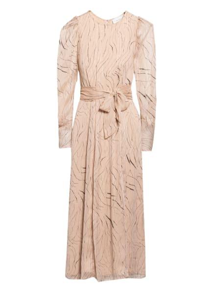 NEO NOIR Kleid VIVIAN mit 3/4-Arm, Farbe: NUDE/ SILBER/ SCHWARZ (Bild 1)