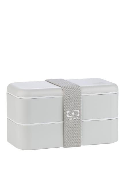 monbento Bento-Lunchbox MB ORIGINAL, Farbe: HELLGRAU (Bild 1)