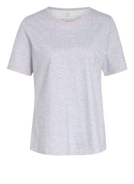 mey Schlafshirt Serie ZZZLEEPWEAR , Farbe: HELLGRAU (Bild 1)