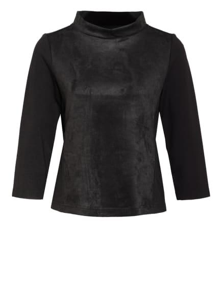 OPUS Shirt GOLEDA mit 3/4-Arm, Farbe: SCHWARZ (Bild 1)