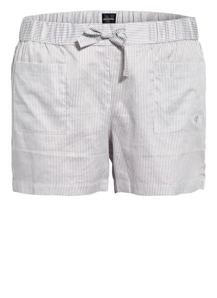 Marc O'Polo Lounge-Shorts , Farbe: BLAUGRAU/ WEISS (Bild 1)