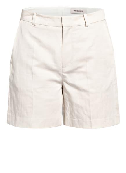 DRYKORN Shorts AFFAIR mit Leinen, Farbe: CREME (Bild 1)