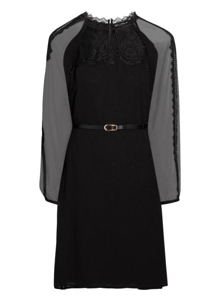 damsel in a dress Kleid SANIA mit Spitzenbesatz, Farbe: SCHWARZ (Bild 1)