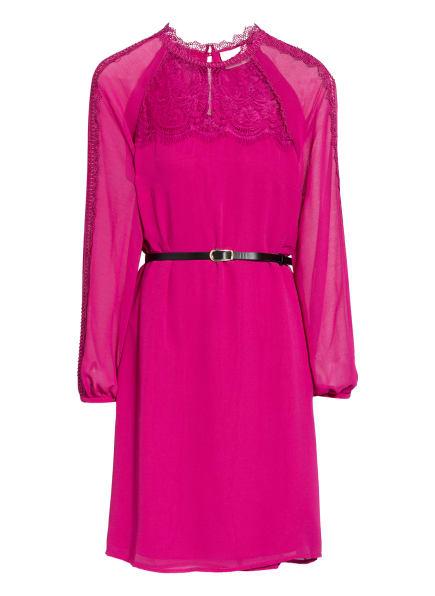 damsel in a dress Kleid mit Spitzenbesatz, Farbe: FUCHSIA (Bild 1)