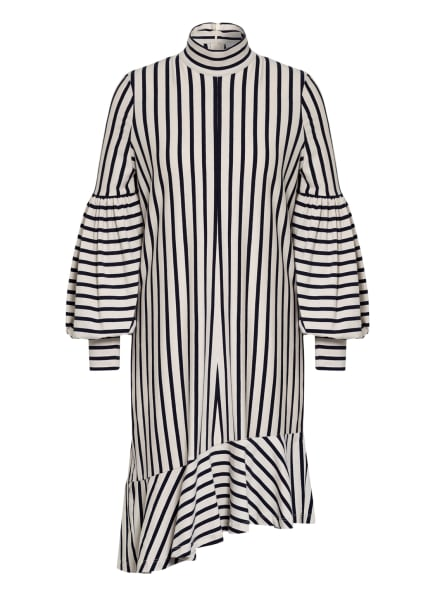 MUNTHE Jerseykleid TOVARA , Farbe: CREME/ DUNKELBLAU (Bild 1)
