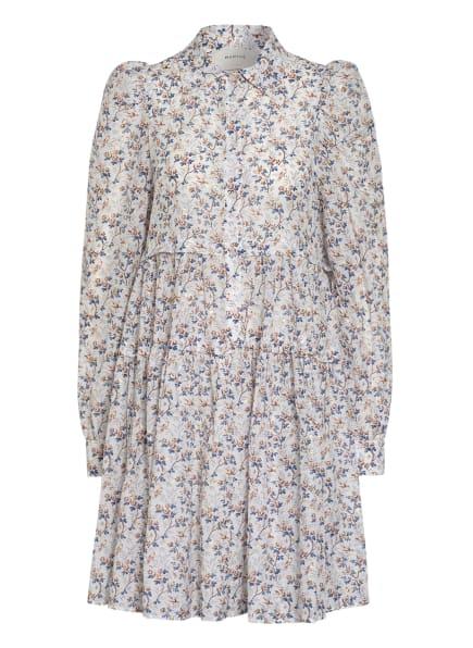 MUNTHE Kleid TRIANGLE , Farbe: WEISS/ DUNKELBLAU/ GOLD (Bild 1)