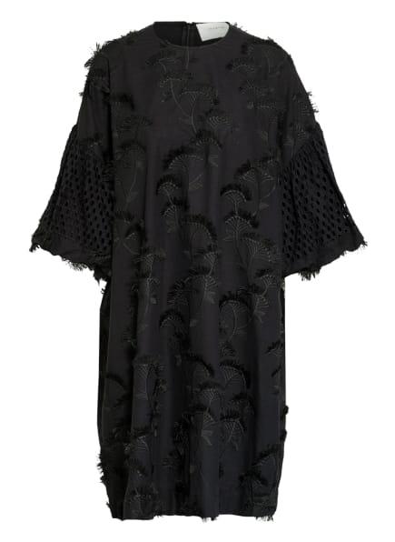 MUNTHE Kleid THUNDER mit Stickereien , Farbe: SCHWARZ (Bild 1)