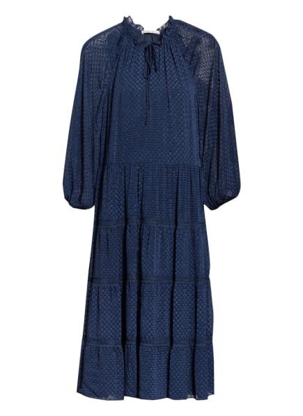alice+olivia Kleid LAYLA mit 3/4-Arm, Farbe: DUNKELBLAU (Bild 1)