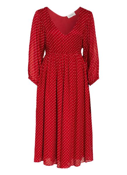 American Vintage Kleid ABOODI, Farbe: ROT/ WEISS (Bild 1)