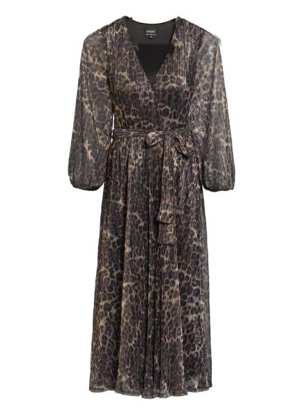 BARDOT Kleid , Farbe: SCHWARZ/ HELLBRAUN (Bild 1)