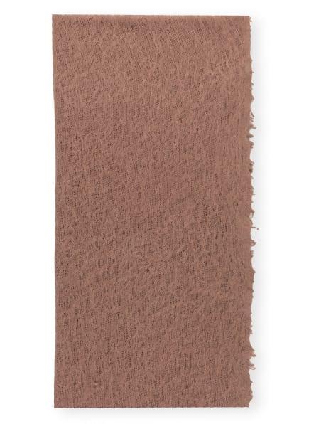 Mouleta Cashmere-Schal, Farbe: HELLBRAUN (Bild 1)