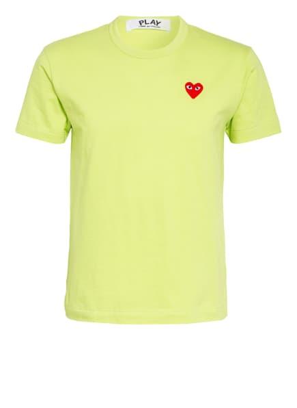 COMME des GARÇONS PLAY T-Shirt, Farbe: HELLGRÜN (Bild 1)