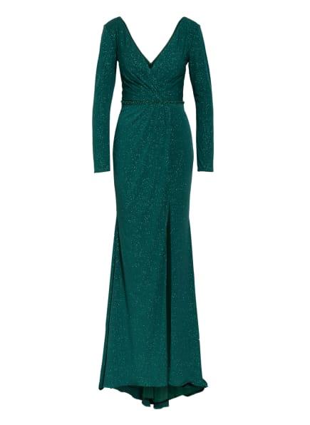 MASCARA Abendkleid mit Schmucksteinbesatz, Farbe: GRÜN (Bild 1)