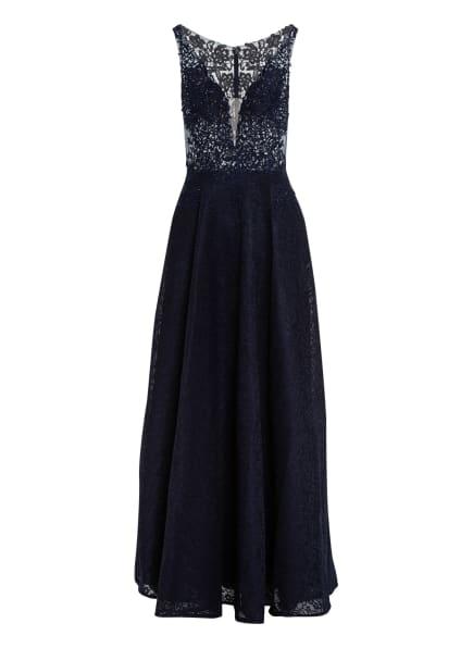 MASCARA Abendkleid mit Spitzenbesatz, Farbe: DUNKELBLAU (Bild 1)