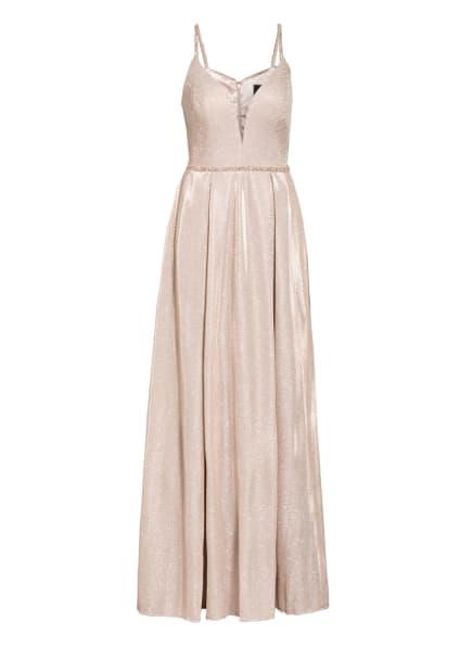 MASCARA Abendkleid mit Schmucksteinbesatz, Farbe: ROSÉ (Bild 1)