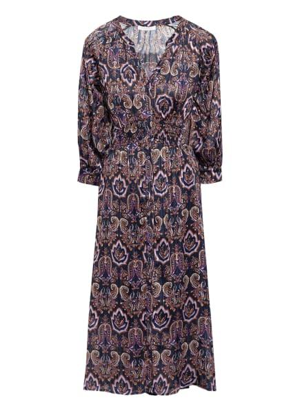 Freebird Kleid MAE mit Glitzergarn , Farbe: DUNKELBLAU/ LILA/ HELLLILA (Bild 1)