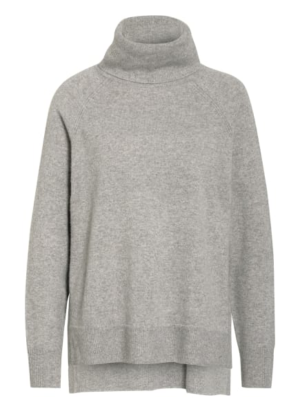 WHISTLES Cashmere-Pullover, Farbe: GRAU/ HELLGRAU (Bild 1)