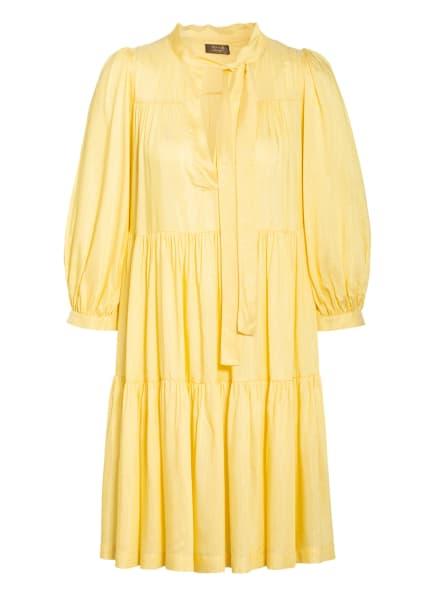 ottod'ame Kleid mit 3/4-Arm, Farbe: GELB/ GOLD (Bild 1)