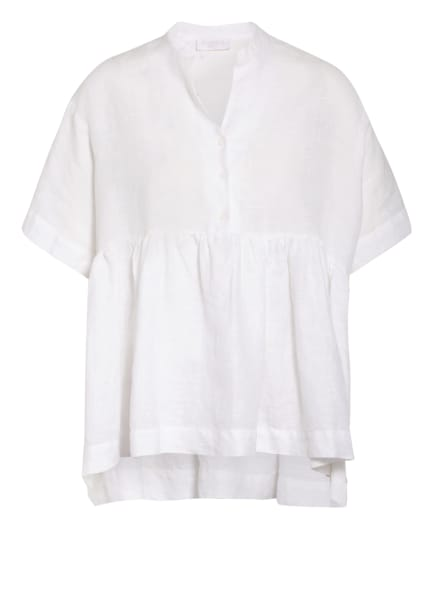 ottod'ame Blusenshirt aus Leinen, Farbe: WEISS (Bild 1)