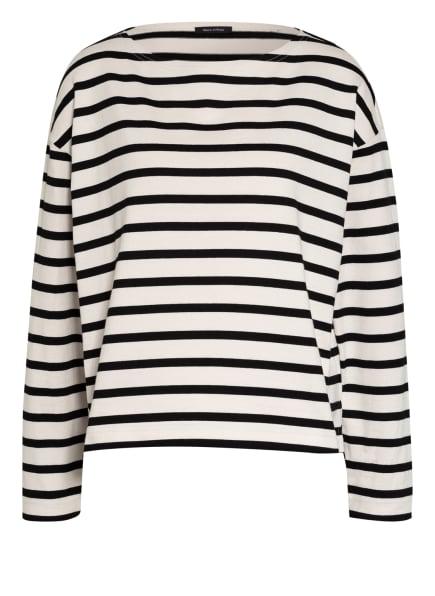 Marc O'Polo Sweatshirt, Farbe: SCHWARZ/ CREME (Bild 1)