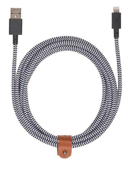 NATIVE UNION USB-Lightning-Kabel, Farbe: SCHWARZ/ WEISS (Bild 1)