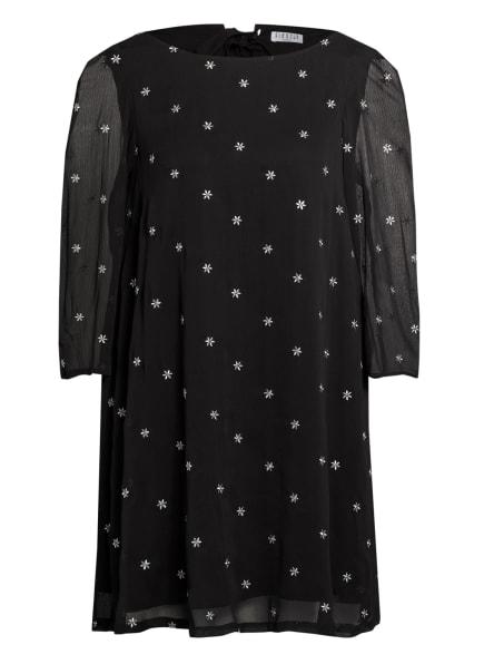CLAUDIE PIERLOT Kleid RIFIFI, Farbe: SCHWARZ/ SILBER (Bild 1)