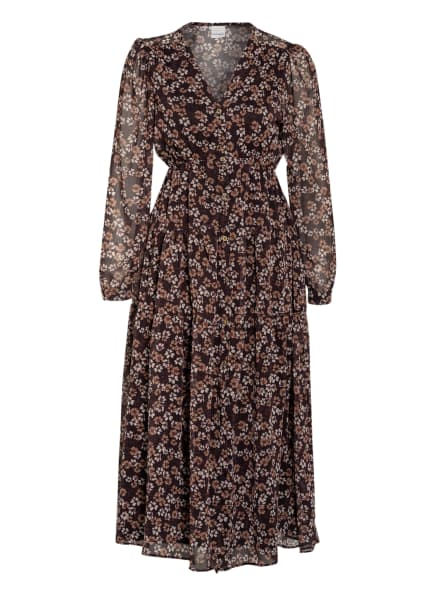 RINASCIMENTO Kleid, Farbe: SCHWARZ/ BEIGE/ CREME (Bild 1)