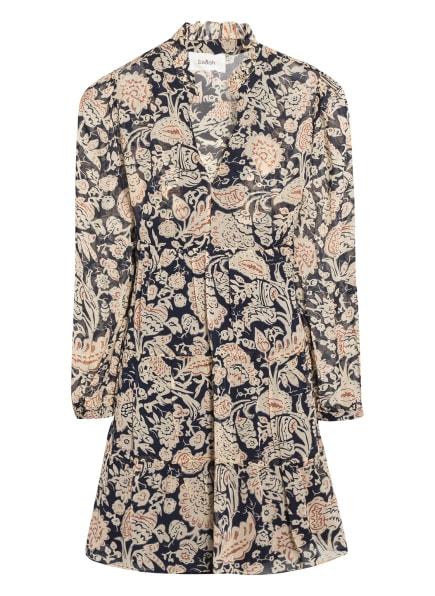 ba&sh Kleid AZUR, Farbe: DUNKELBLAU/ CREME (Bild 1)
