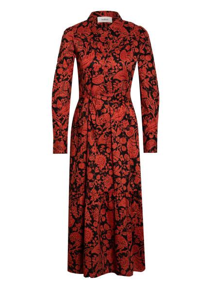 ba&sh Kleid CERISE, Farbe: DUNKELROT/ SCHWARZ (Bild 1)