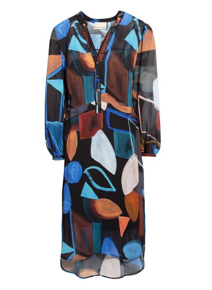 Phase Eight Kleid NEMI, Farbe: SCHWARZ/ BRAUN/ TÜRKIS (Bild 1)