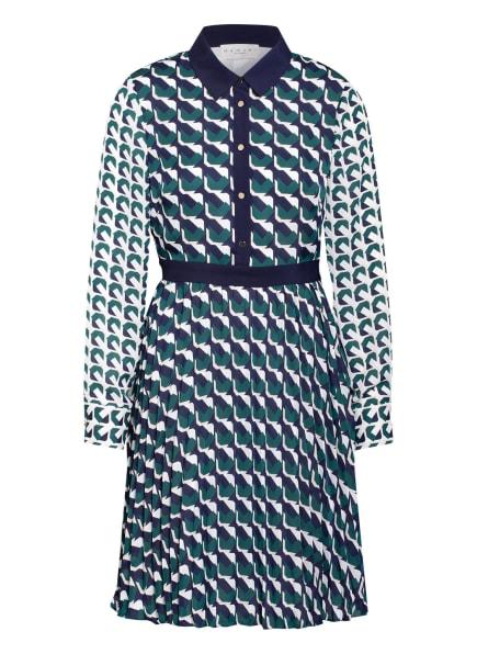 damsel in a dress Kleid EMORY, Farbe: WEISS/ GRÜN/ DUNKELBLAU (Bild 1)
