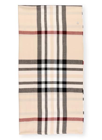FRAAS Loop-Schal, Farbe: CAMEL/ SCHWARZ/ DUNKELROT (Bild 1)