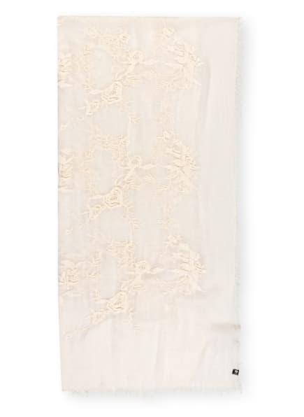 FRAAS Schal mit Stickerei, Farbe: ECRU (Bild 1)
