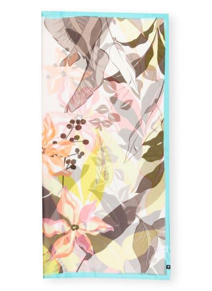 FRAAS Seidentuch, Farbe: NEONBLAU/ WEISS/ ROSÉ (Bild 1)