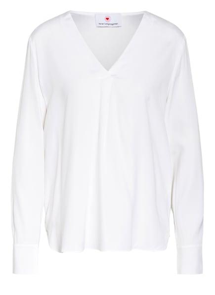 herzensangelegenheit Blusenshirt aus Seide, Farbe: CREME (Bild 1)