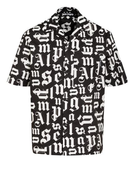 Palm Angels Resorthemd Comfort Fit , Farbe: SCHWARZ/ WEISS (Bild 1)