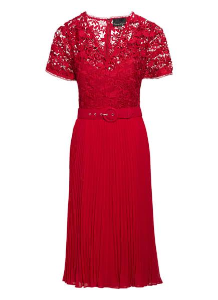 Phase Eight Kleid DANA mit Spitzenbesatz, Farbe: ROT (Bild 1)