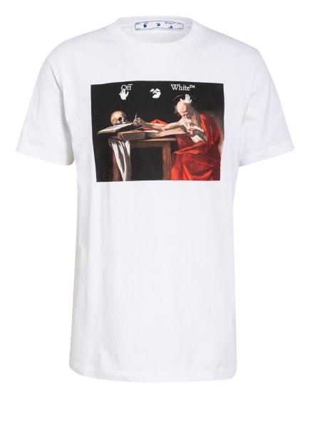 Off-White T-Shirt, Farbe: WEISS/ ROT/ SCHWARZ (Bild 1)