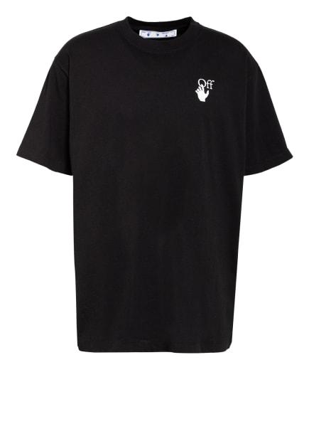 Off-White Oversized-Shirt, Farbe: SCHWARZ/ FUCHSIA (Bild 1)