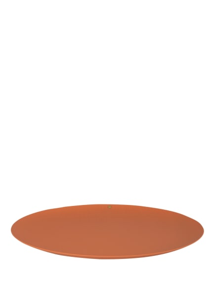 ALESSI Tablett VENEER, Farbe: DUNKELORANGE (Bild 1)