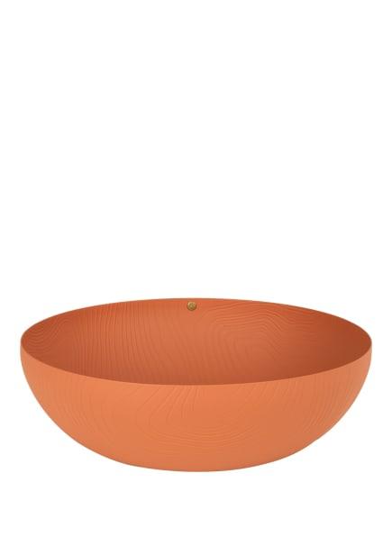 ALESSI Schale VENEER, Farbe: DUNKELORANGE (Bild 1)