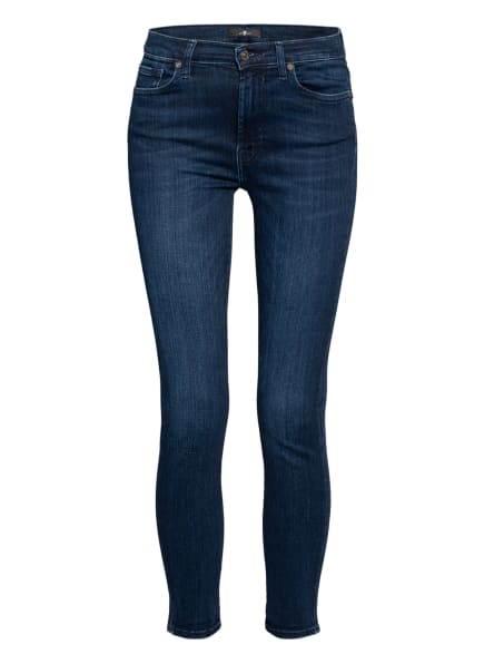 7 for all mankind Skinny Jeans SLIM ILLUSION STARRY, Farbe: Slim Illusion Starry DARK BLUE (Bild 1)