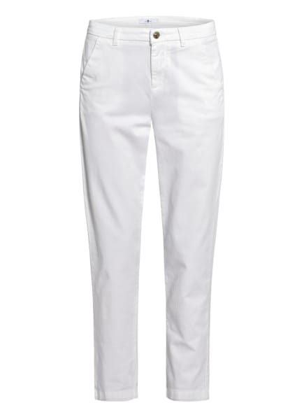 7 for all mankind Chino, Farbe: WEISS (Bild 1)