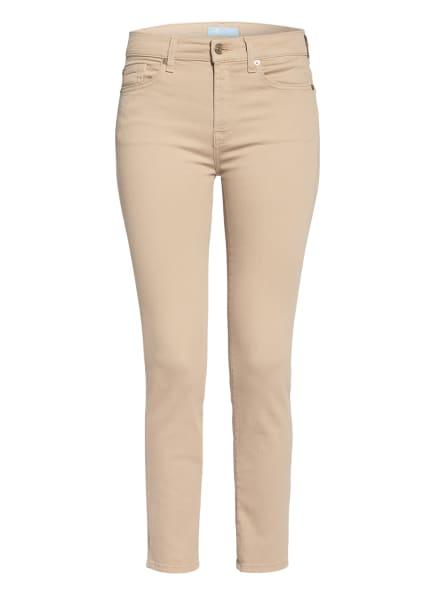 7 for all mankind Skinny Jeans ROXANNE, Farbe: Colored Bair BEIGE (Bild 1)