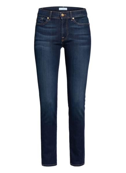 7 for all mankind Skinny Jeans ROXANNA BAIR, Farbe: Rinsed Indigo DARK BLUE (Bild 1)
