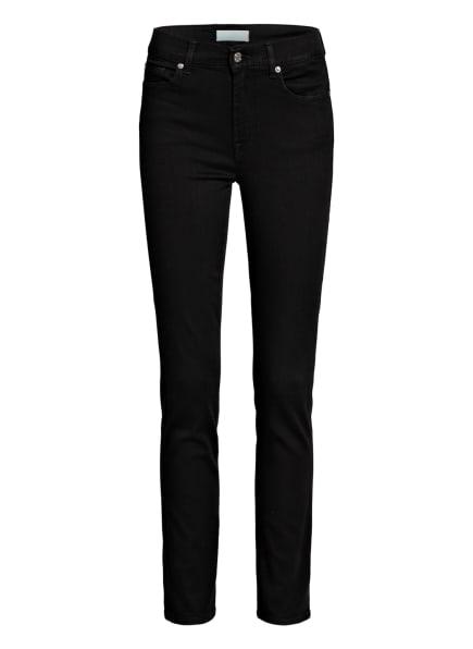 7 for all mankind Skinny Jeans ROXANNE BAIR , Farbe: B(air) Rinsed Black  BLACK (Bild 1)
