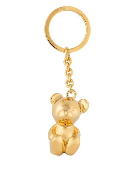 ROBBE + BERKING Schlüsselanhänger BREUNI BÄR, Farbe: GOLD (Bild 1)