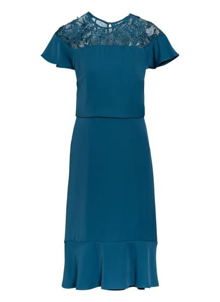 Phase Eight Kleid HAIDEE mit Spitzenbesatz , Farbe: PETROL (Bild 1)
